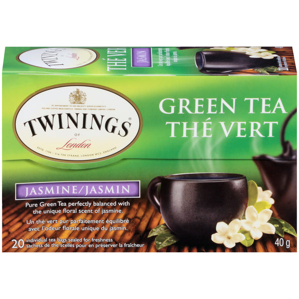 Twinings Tea - Green Jasmine - 20's