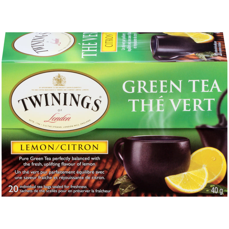 Twinings Tea - Green Lemon - 20's