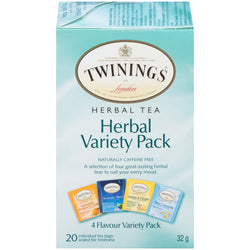 Twinings Tea - Herbal Variety - 20's