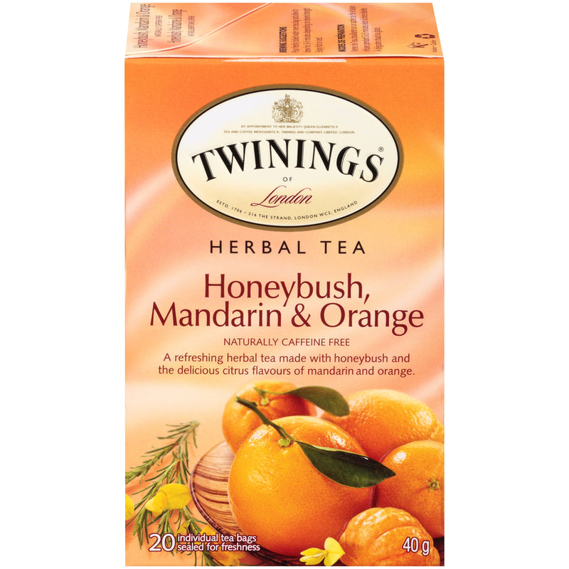 Twinings Tea - Honeybush Mandarin Orange - 20's