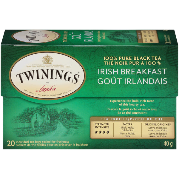 Twinings Tea - Irish Breakfast - 20's