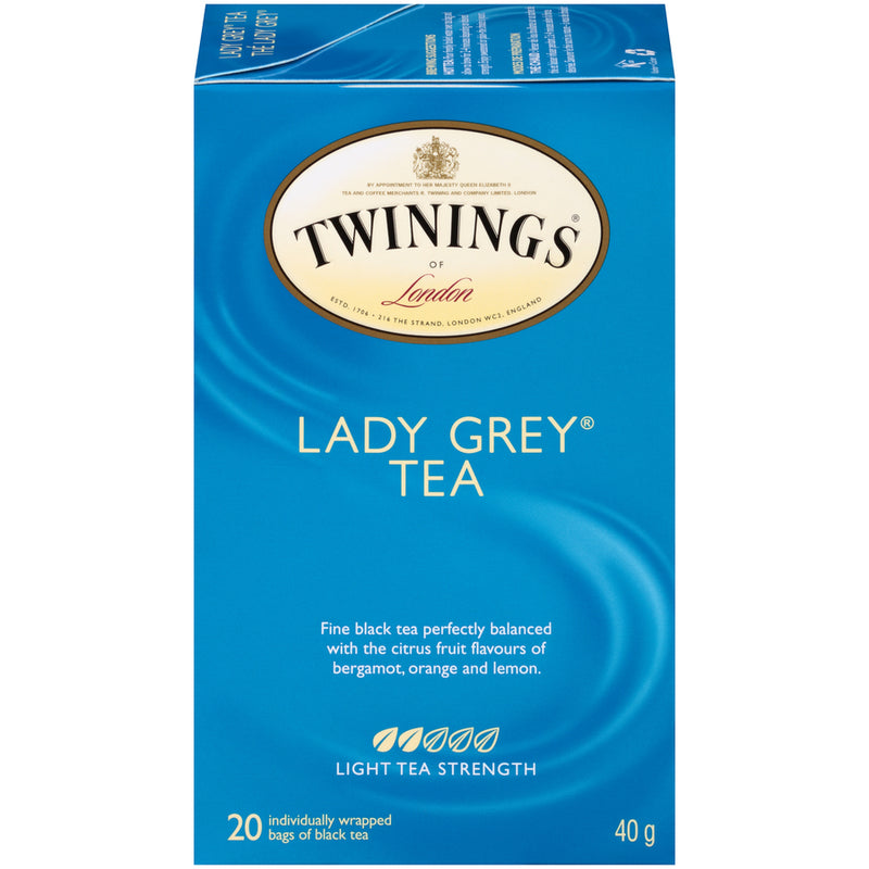 Twinings Tea - Lady Grey - 20's