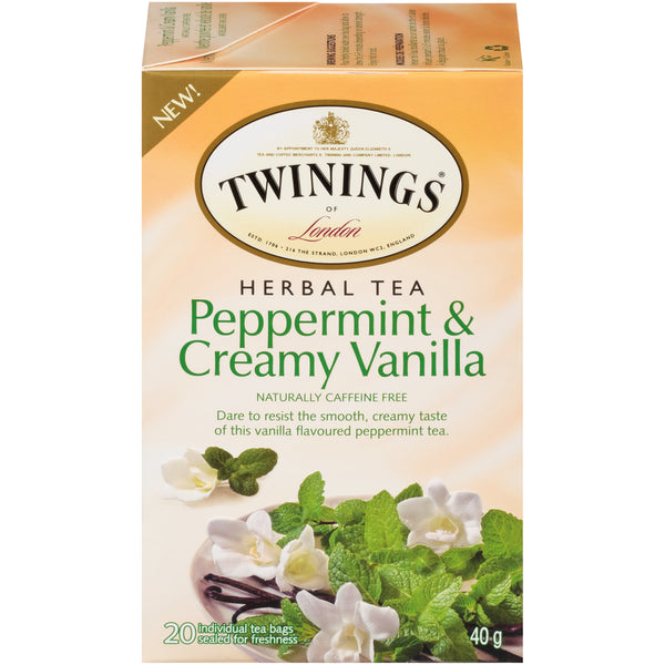 Twinings Tea - Peppermint Vanilla - 20's