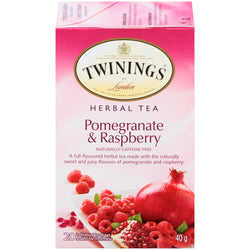 Twinings Tea - Pomegranite Raspberry - 20's