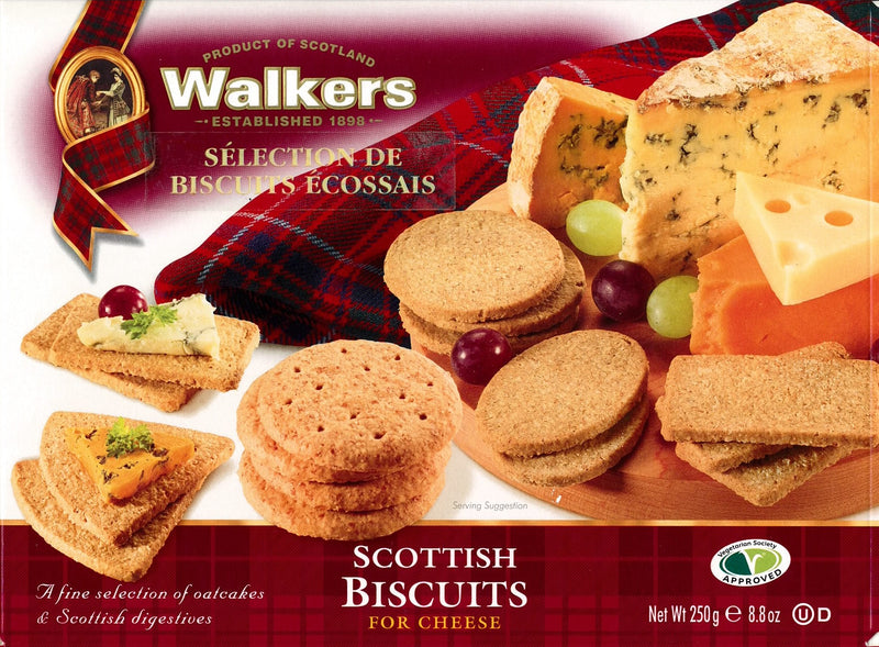 Walkers Biscuits for Cheese - 250 g