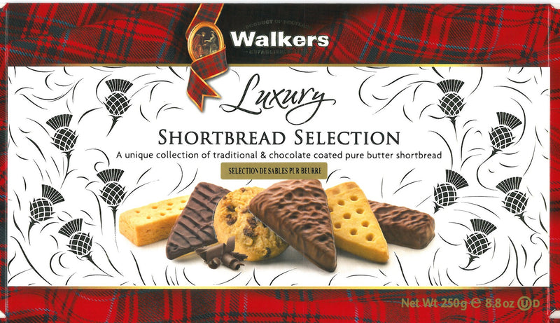 Walkers Luxury Shortbread Assorted - 250 g