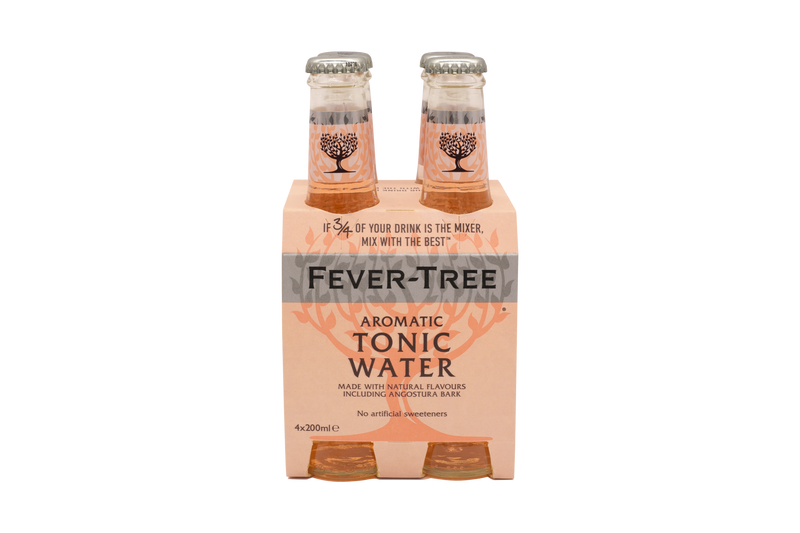 Fever Tree Aromatic Tonic Water - 4x200ml
