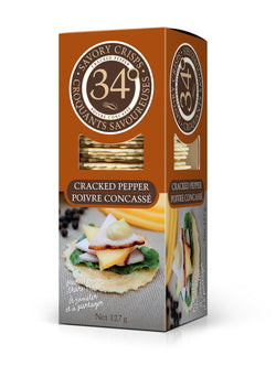 34 Crackers Pepper - 127 g