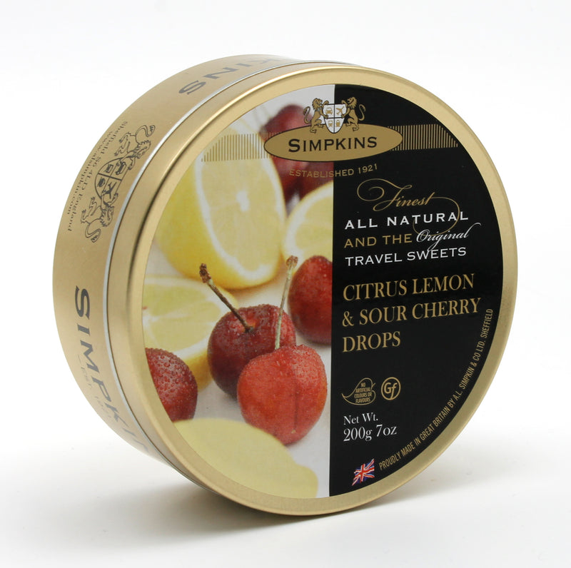 Simpkins Tin Lemon Sour - 200 g
