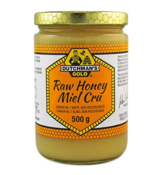 Dutchman Gold Honey - Raw - 500 g