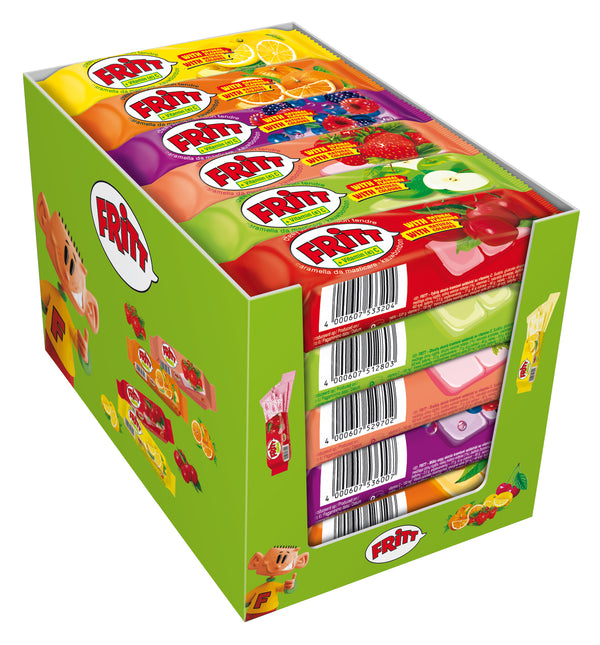 Fritt Chewy Bars Strawberry - 70 g