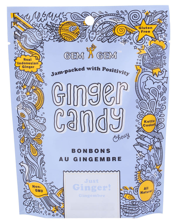 Gem Gem - Ginger Candy - 100 g