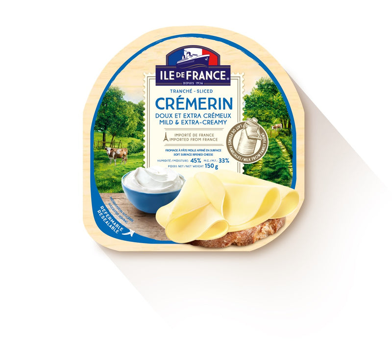 Ile De France French Brie - Slice (Cremerin) - 150 g