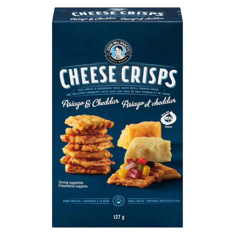 Macy's Cheese Crisps Cheddar Asiago - 127 g
