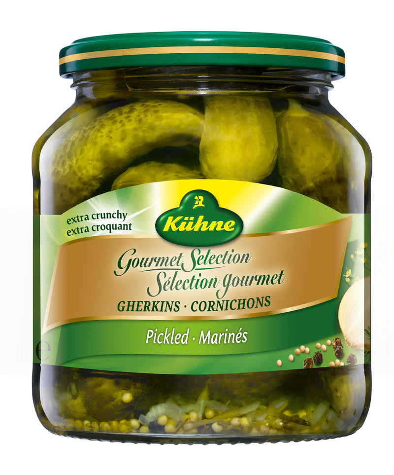 Kuehne Gherkins Fine - 500 ml