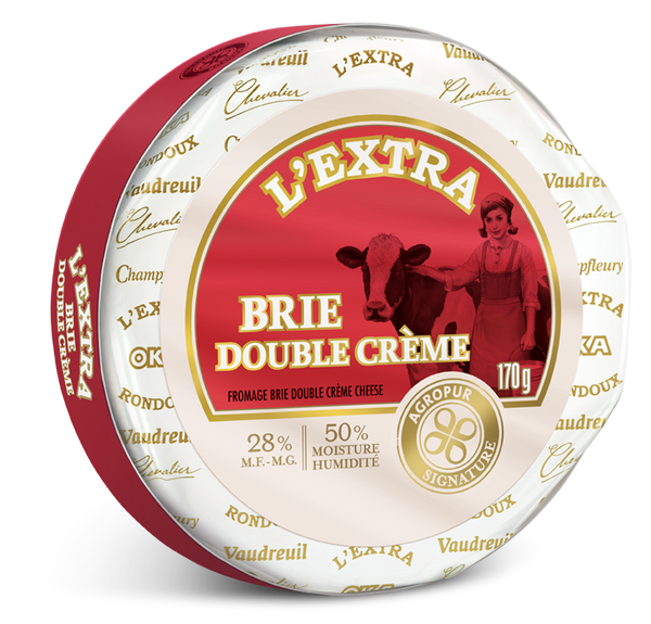 L'Extra Double Cream Brie Cheese - 170 g