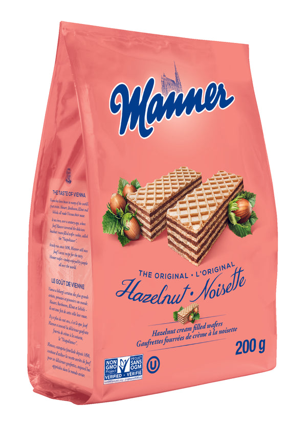 Manner Wafer Hazelnut - 200 g