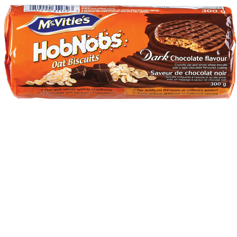 McVitie Hobnobs Dark Chocolate - 300 g