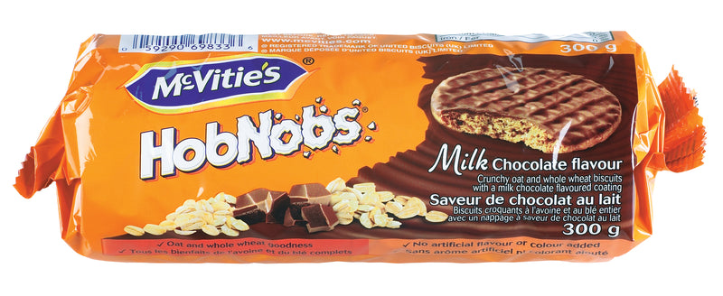 McVitie Hobnobs Milk Chocolate - 300 g