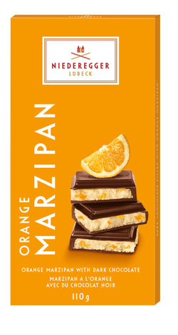 Niederegger Marzipan Bar - Orange - 110 g