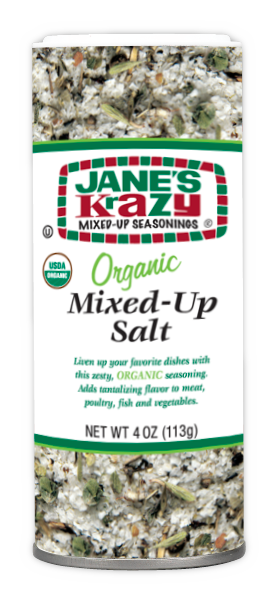 Jane's Krazy Mixed Up Organic Salt - 135 g