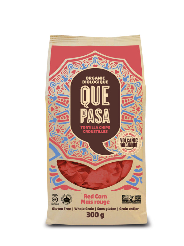 Que Pasa Tortilla Chips Red - 300 g