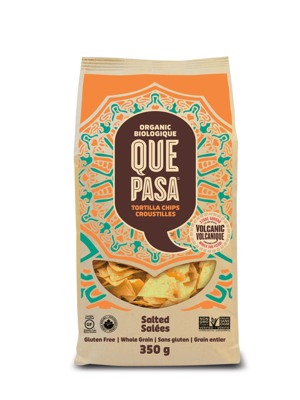 Que Pasa Tortilla Chips Salted - 350 g