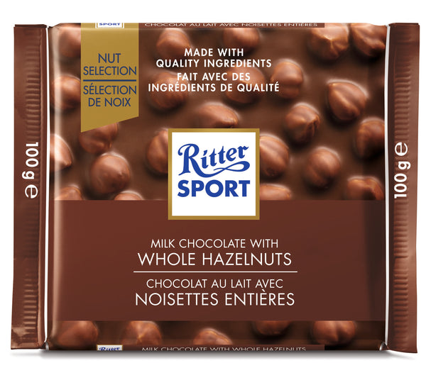 Ritter Nut - Milk Whole Hazelnut - 100 g