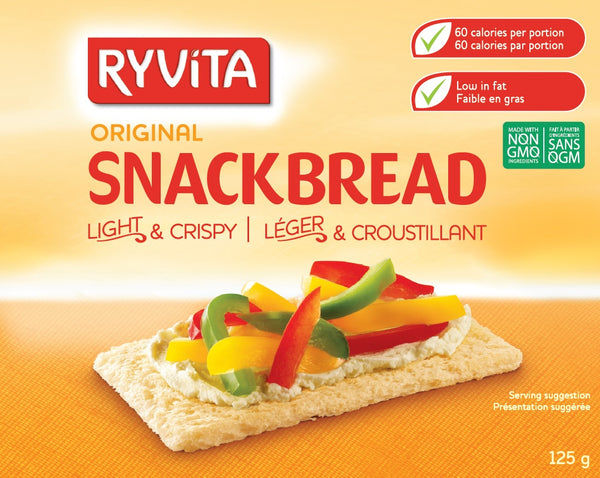 Ryvita Snackbread Regular - 125 g