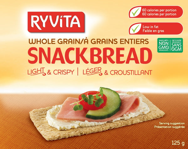Ryvita Snackbread Whole Grain - 125 g