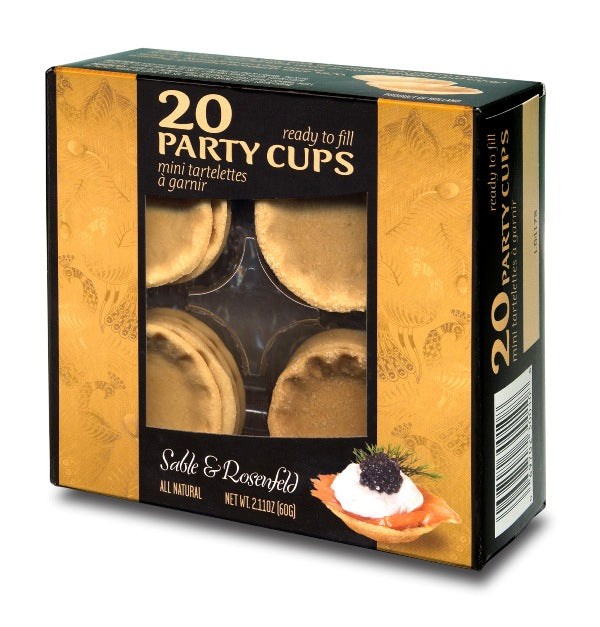 Sable and Rosenfeld Party Cups - 20 /pk
