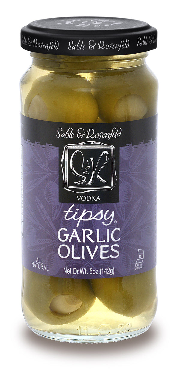 Sable and Rosenfeld Olives Tipsy Vodka Garlic - 142 g