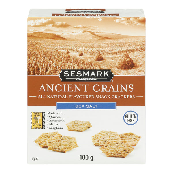 Sesmark Crackers Sea Salt - 100 g