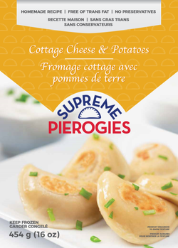 Supreme Pierogies Product Shot