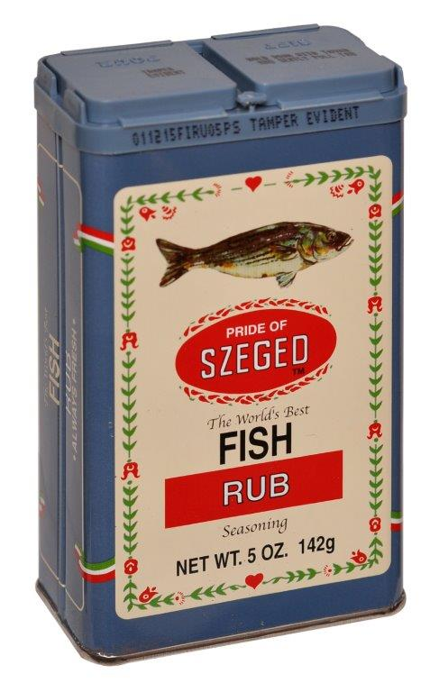 Szeged Rub Fish - 142 g