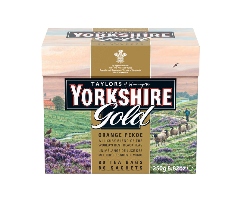 Taylors Yorkshire Tea - Gold - 80's
