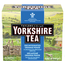 Taylors Yorkshire Tea - Decaf  - 80's