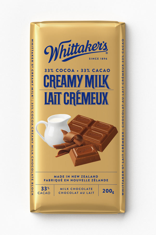 Whittakers Bar Creamy Milk - 200 g