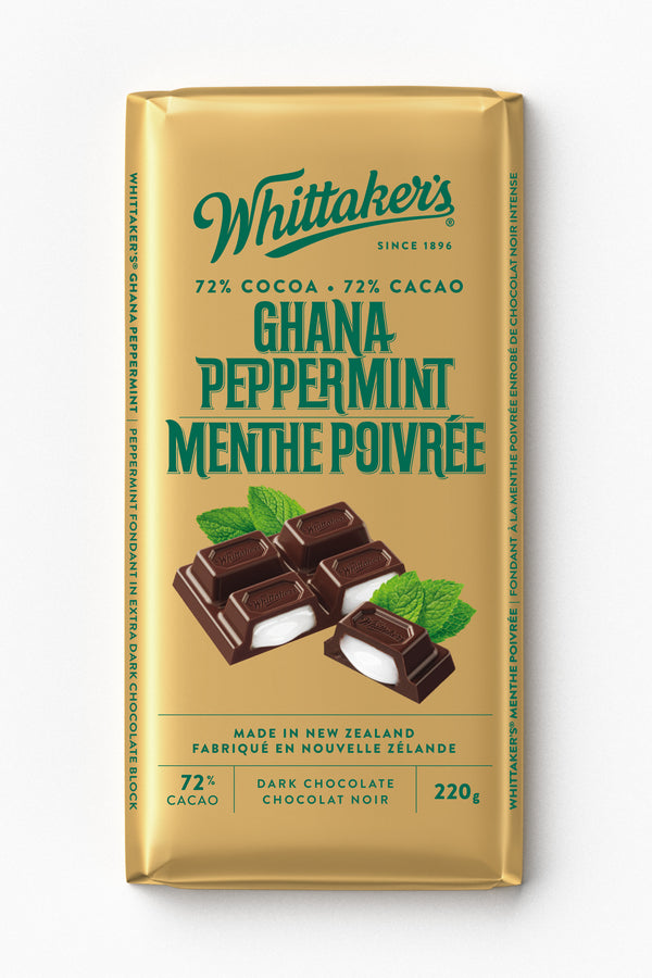 Whittakers Bar Ghana Peppermint - 220 g