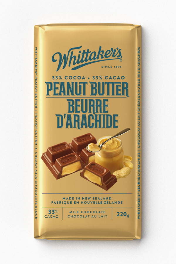 Whittakers Bar Peanut Butter - 220 g