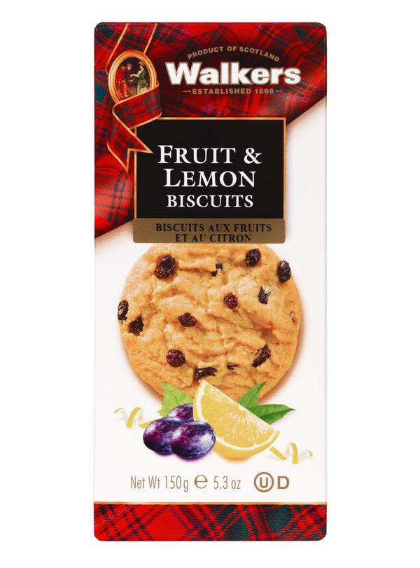 Walkers Biscuits Fruit & Lemon - 150 g