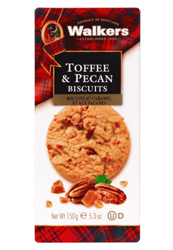 Walkers Biscuits Toffee Pecan  - 150 g