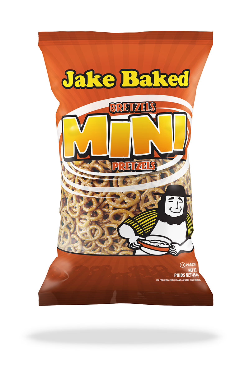 Jake Baked Pretzel Mini - 454 g