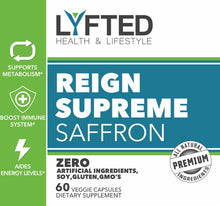 Load image into Gallery viewer, REIGN SUPREME Saffron