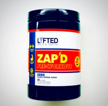 Load image into Gallery viewer, ZAP'D Pre-Workout Powder