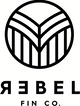REBEL FIN CO. Logo