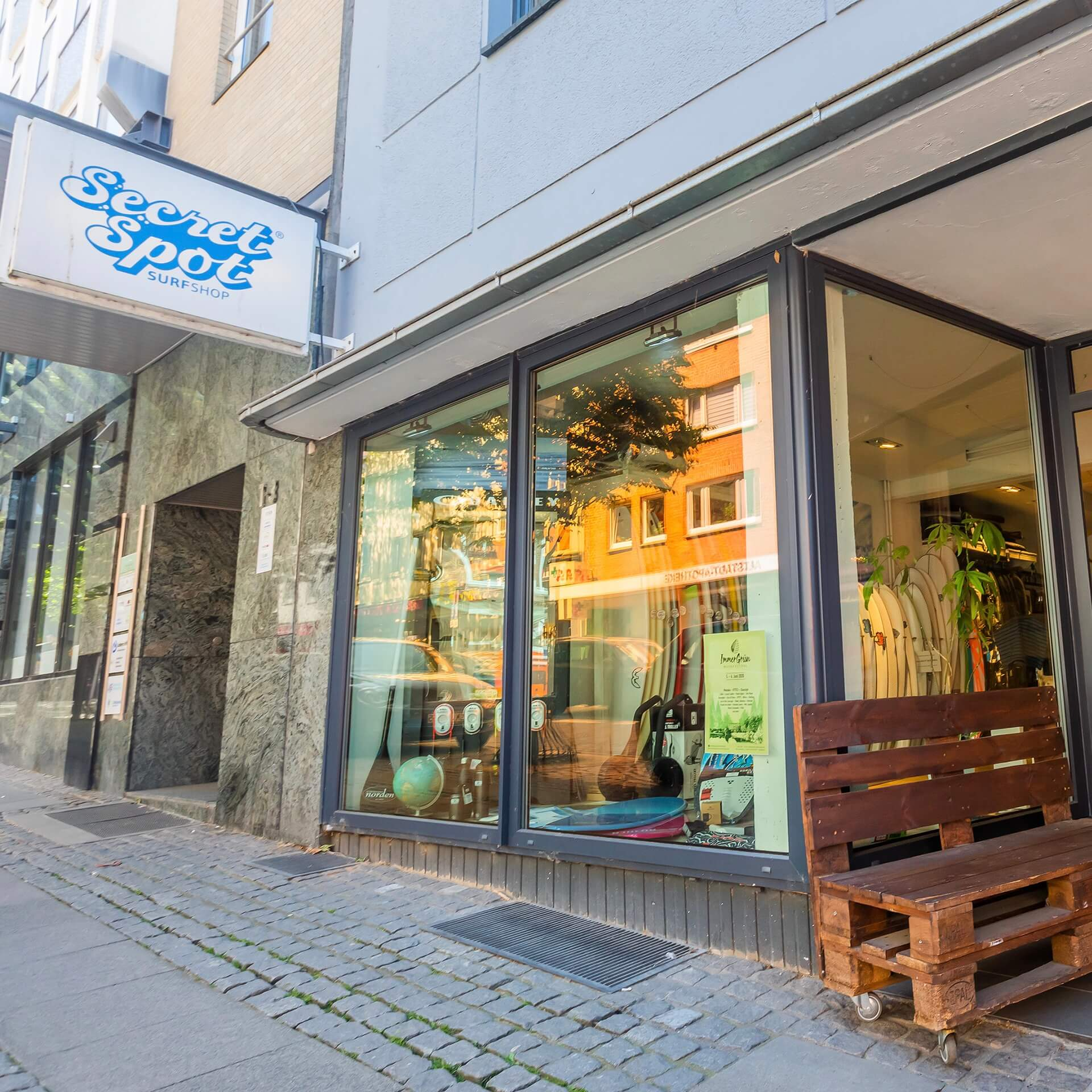 Secret Spot Surf Shop Kiel / REBEL FIN CO.