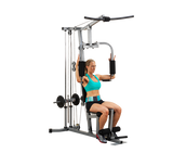POWERLINE FREE WEIGHT HOME GYM