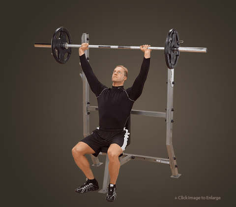 COMMERCIAL SHOULDER PRESS BENCH