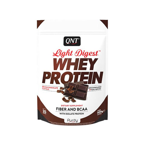 QNT Light Digest Whey Protein Belgian Suklaa
